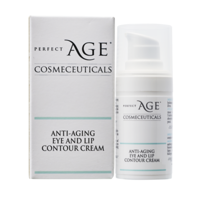 Anti-aging eye and lip contour cream