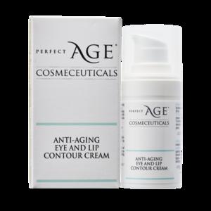 Anti-aging eye and lip contour cream