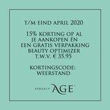 15% korting én gratis Beauty Optimizer_