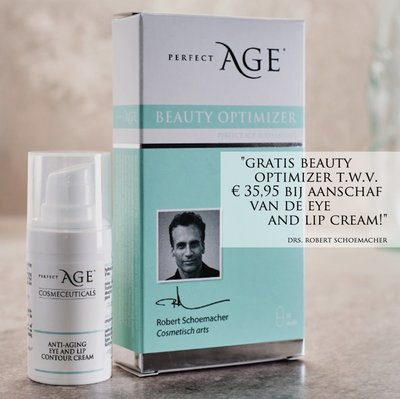 Anti-aging eye and lip cream met GRATIS Beauty Optimizer