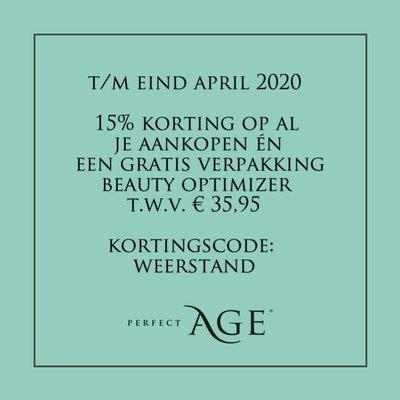 15% korting én gratis Beauty Optimizer