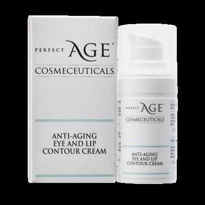 Anti-aging eye and lip contour cream - 15 ml.