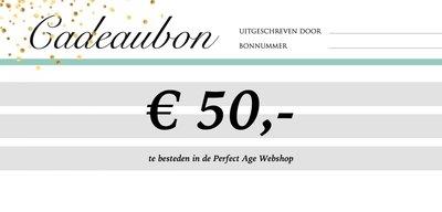 Cadeaubon - € 50,-