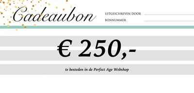 Cadeaubon - € 250,-