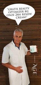 24H Renew Cream met GRATIS Beauty Optimizer